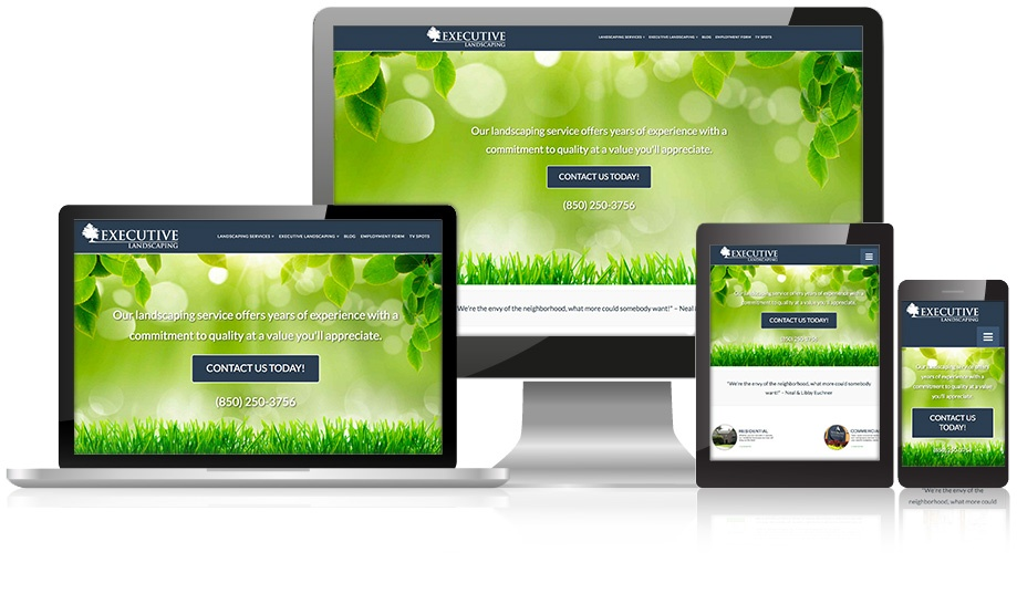 webdesign-showcase-executive landscaping