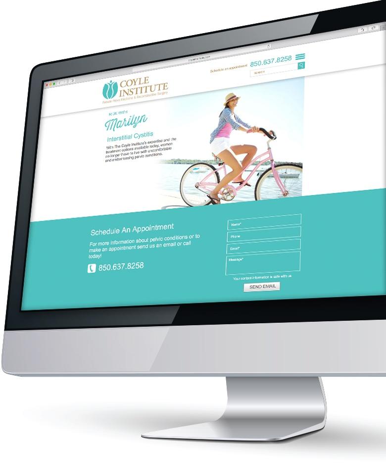 Coyle Institute Website, Lucid Advertising